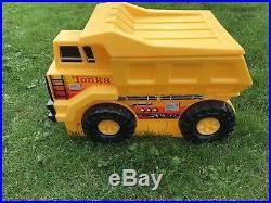 VINTAGE & RARE! Large Tonka Dump Truck Toy Chest Box Bin Organization Storage