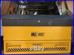 Van Vault 3 High Security Steel Storage Box YellowithBlack
