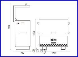 Van Vault 4-store 2020 Large On Site Security Box Tool Equipment Storage Box