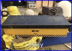 Van Vault Tipper Secure Van Tool Storage Box (Large Van/Tipper) 1815x488x557mm