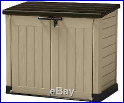 Versatile Storage Unit Outdoor Durable Weather Resistance Box Garden Patio Large