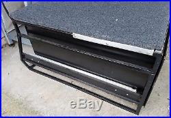 Very large Steel Metal vehicle storage box with combination lock