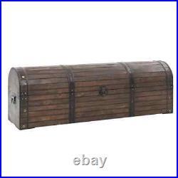 VidaXL Solid Wood Storage Chest Vintage Style 120x30x40cm Cabinet Locker Box