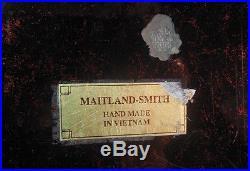 Vintage LARGE MAITLAND SMITH Box Decorative Storage Trinket