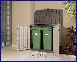Wheelie Bin Storage Box Keter Garden Outdoor Patio Furniture Container Large NEW