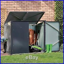 Wheelie Bin Store Shed Metal Garden Storage Box Outdoor Patio Large NEW Waltons