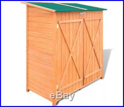 Wooden Sentry Box Beach Hut Outdoor Garden Storage Cupboard Room Tool Shed Large