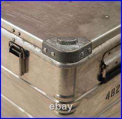 ZARGES Aluminium Metal Large Storage box camping xmas fishing booze camper vw S1