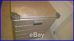Zarges Ex Large Aluminium Flight Box/ Storage Trunk